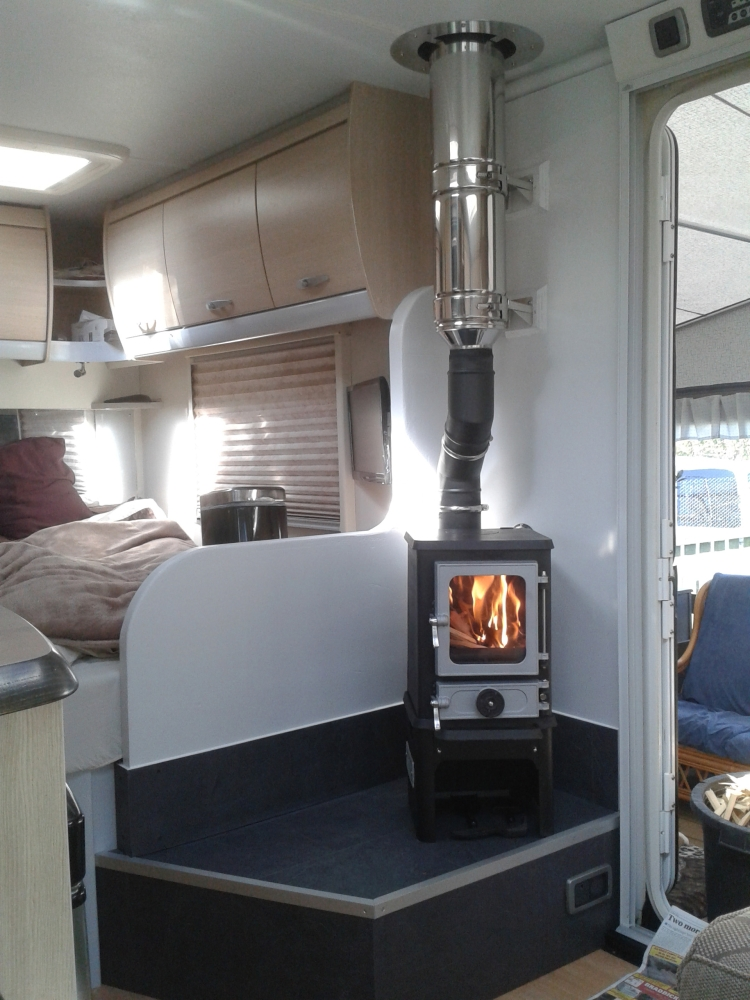 Image Result For Can You Put A Pellet Stove In A Mobile Home