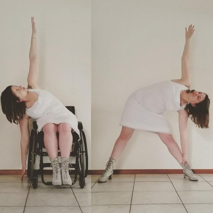 rolstoel yoga dans