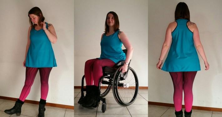 sporttop rcvr legging rolstoel