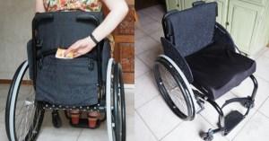 rugleuninghoes rolstoel DIY