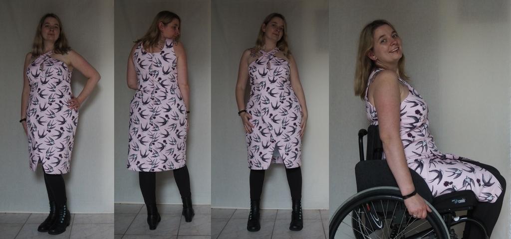 jurk Vogue V1498 zelfgemaakt