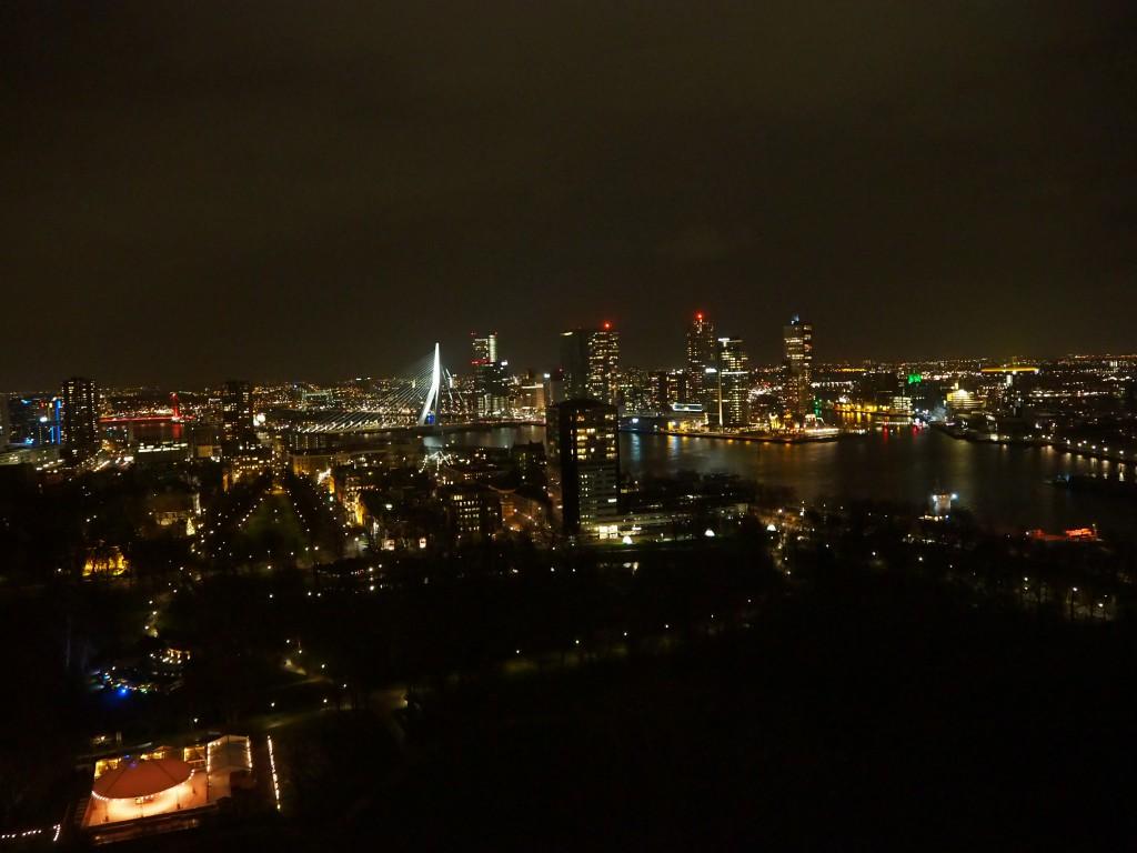 Euromast Rotterdam nacht