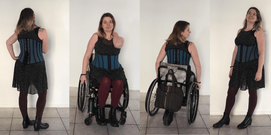 Dore korset onderborst rolstoelmode