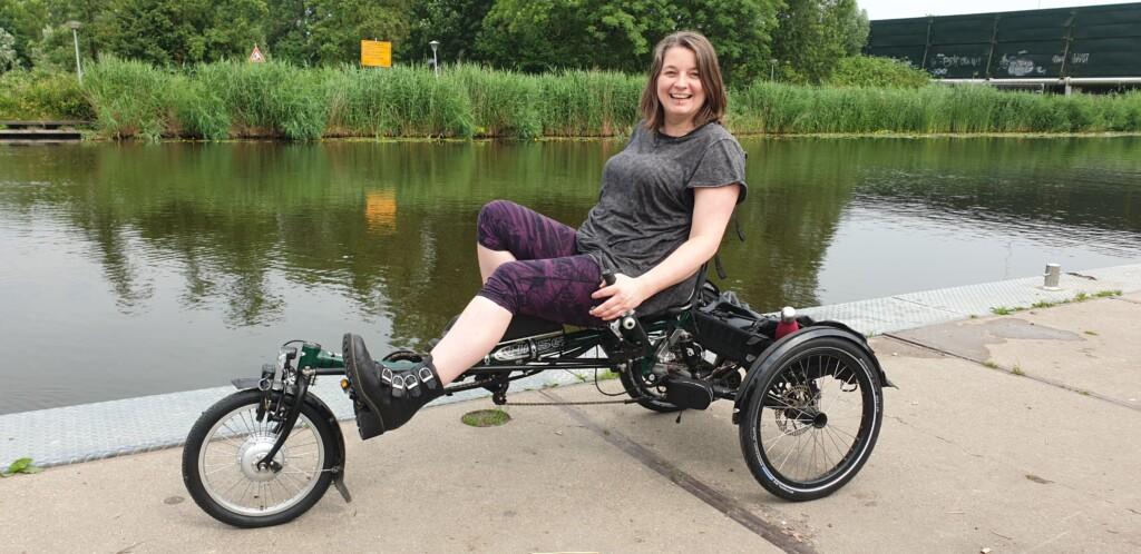 driewielligfiets Hase Lepus met motor