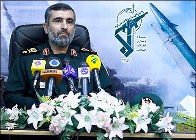 امیرعلی حاجیزاده فرمانده نیروی هوایی سپاه پاسداران