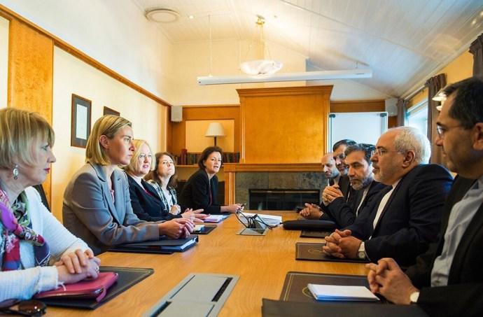 Iran-EU Diplomats