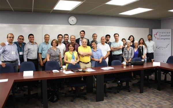 نمایندگان 19 سازمان غیرانتفاعی در میزگرد کنگره ایرانیان کانادا