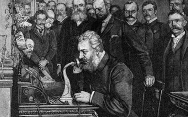الکساندر گراهام بل با عموی خود در بردفورد Bradford انتاریو تماس گرفت.