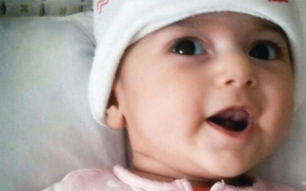 فاطمه رشاد نوزاد چهار ماهه ایرانی