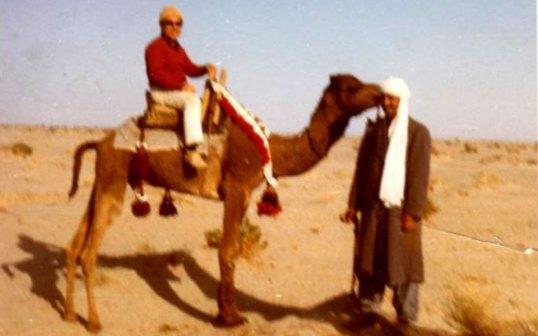 با شتر در کویر جاز موریان