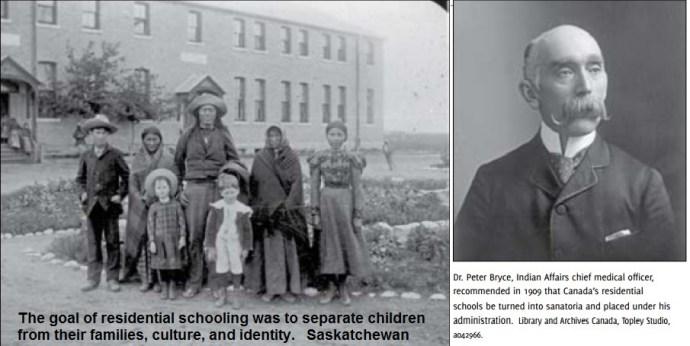 عکسهایی از آرشیو مدارک مدارس مسکونی بومیان که در گزارش «کمیته حقیقت یابی و آشتی» منعکس شده است.