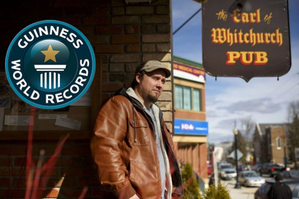 Kevin Ker is the organizer behind the bid for the Guinness World Record for longest streamed concert, at Stouffville's the Earl of Whitchurch Pub. They made that goal on Saturday morning, but the next marker is bigger: Longest concert record. To do that, they've gotta keep rocking until April 2.