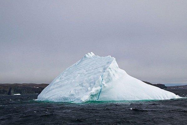 امسال تعداد کوههای یخ در این منطقه بیشتر از پارسال شده