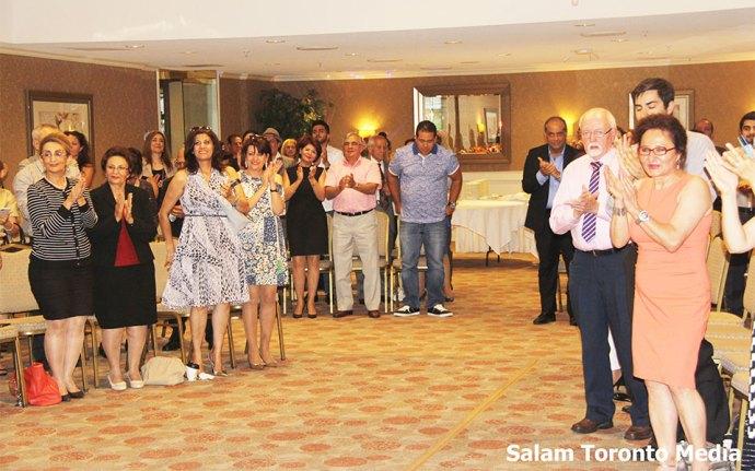 جمع کثیری از اساتید و دانشجویان دانشگاه یورک به همراه دوستان و خویشاوندان در مراسم تقدیر از شایان زهرایی حضور یافتند.