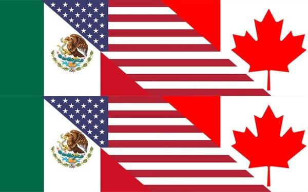 آمار و ارقام نشان می دهد که تجارت بین آمریکا و کانادا متوازن است.
