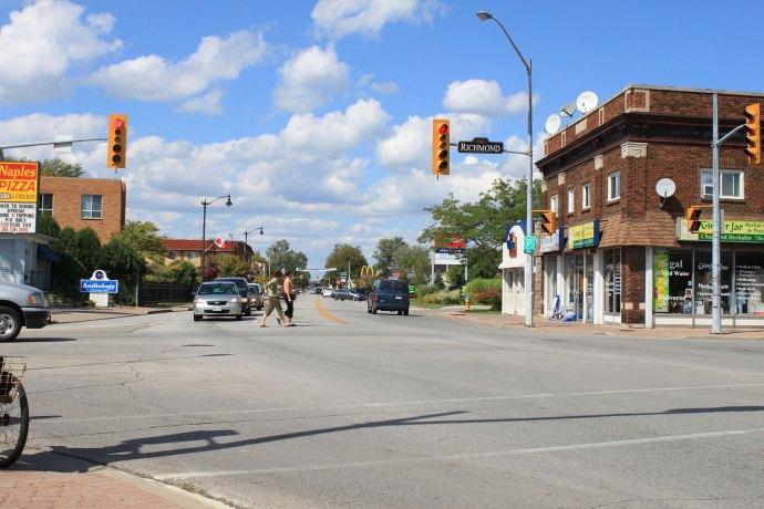 وینزور یکی از مهمترین شهرهای مرزی کاناداست