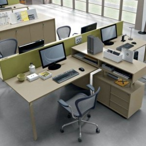 Six Person Workstation