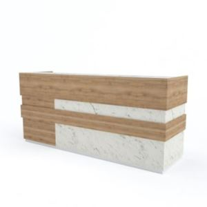 Solid Surface Reception Desk