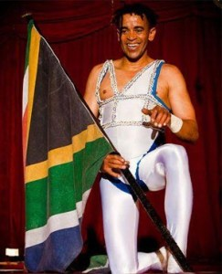 A performer with the SA National Circus. (Facebook)
