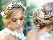 penteados para noivas de cabelos