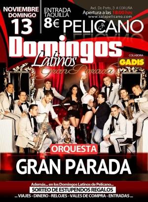 domingos latinos orquesta parada