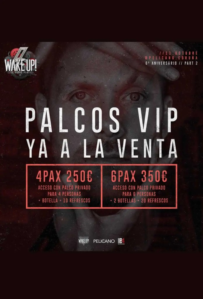 WAKE UP 6 Aniversario Part 2