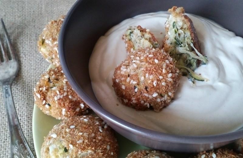 Cukkini fasírt sütőben sütve, olaj nélkül, diétásan