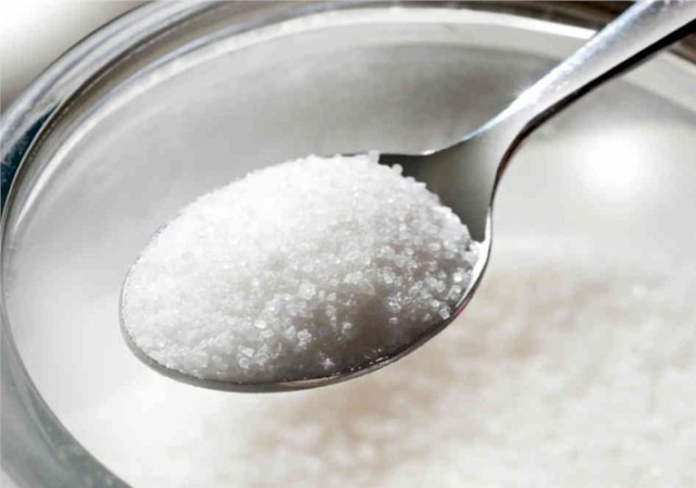Negyedannyi édesítőszer cukor helyett