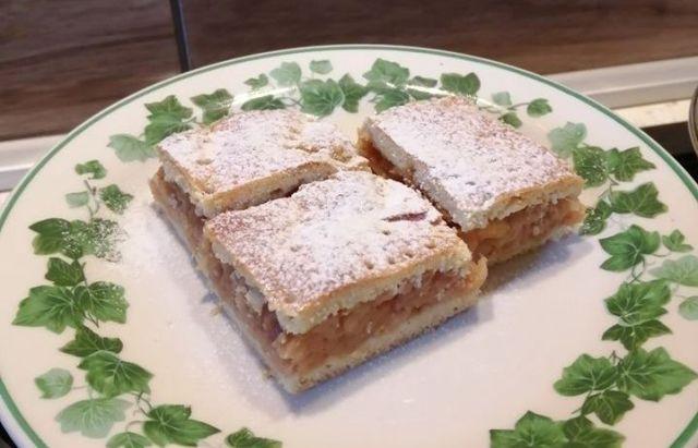Szénhidrátcsökkentett almás pite recept Dia Wellness CH minusz lisztből cukor nélkül