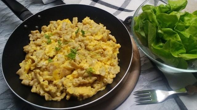 Diétás tojásos nokedli