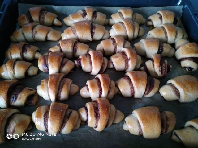 Cukormentes nutellás tekercs recept