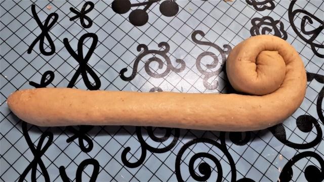 Sonkakrémes szénhdirátcsökkentett briós recept Dia Wellness lisztből