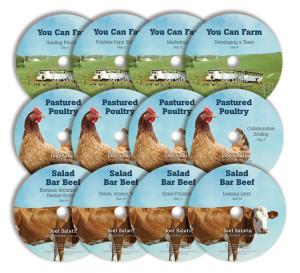 The Salatin Semester - discs