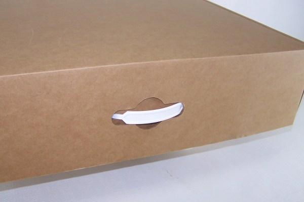Cardboard Box Handles Plastic - Year of Clean Water