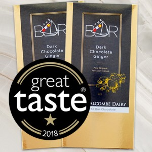 Dark Chocolate and Ginger wins a Great Taste Gold