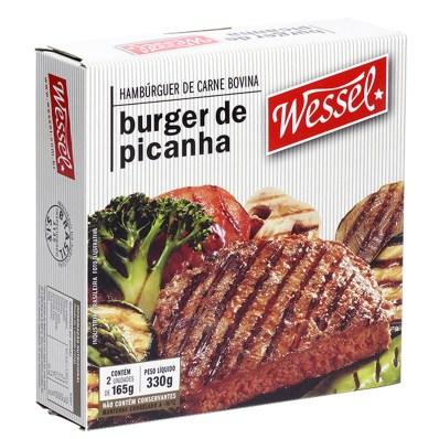 Hambúrguer Wessel de picanha