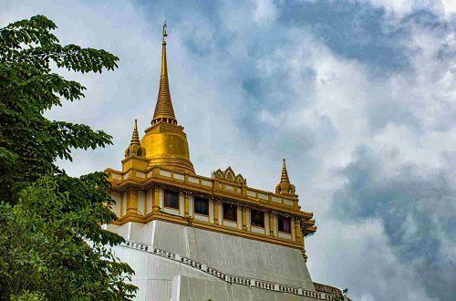 Wat-Saket-Montaña-Dorada