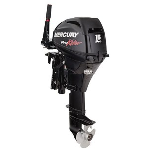 2017 Mercury 15 HP 15EXLHPT-PK-CT Outboard Motor