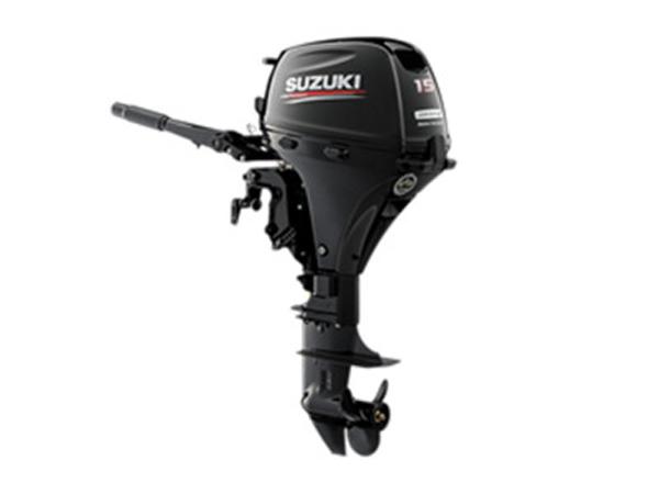 2018 Suzuki Marine 15 HP DF15AS EFI Outboard Motor