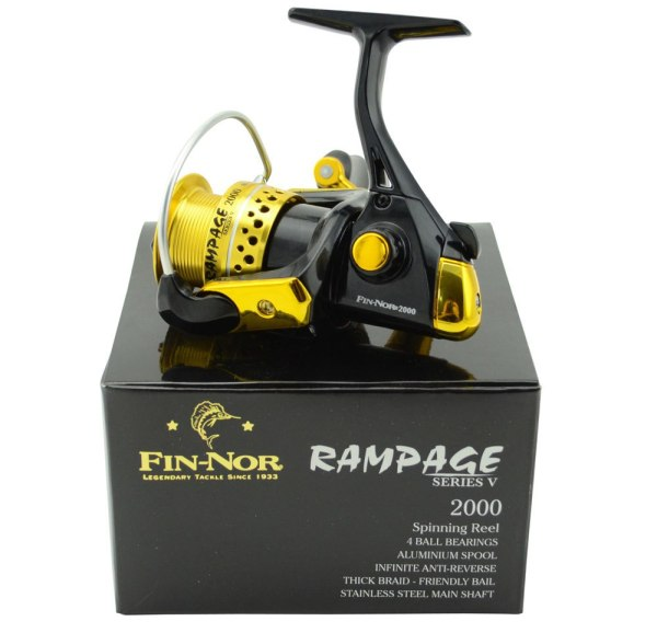 FIN NOR RAMPAGE FISHING REEL 2000 MODEL