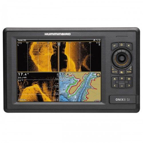 HUMMINBIRD ONIX8CI SI CHARTPLOTTER/FISHFINDER COMBO WITH SIDE IMAGING