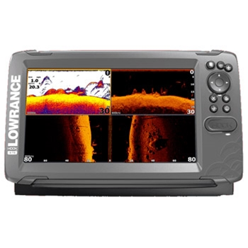Lowrance HOOK2 9 TripleShot with US Inland Lakes