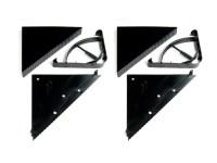 Reusable Triangular Corner Shelves - 2 Pack - Woot