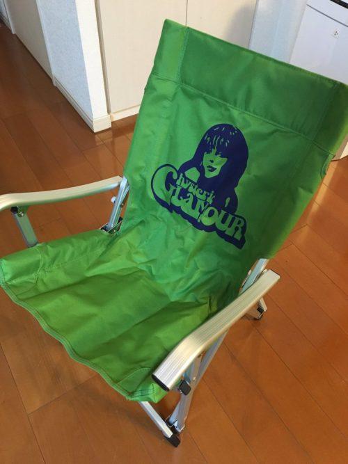 ヒステリックグラマー ノベルティ― アディロンダックの折り畳み椅子