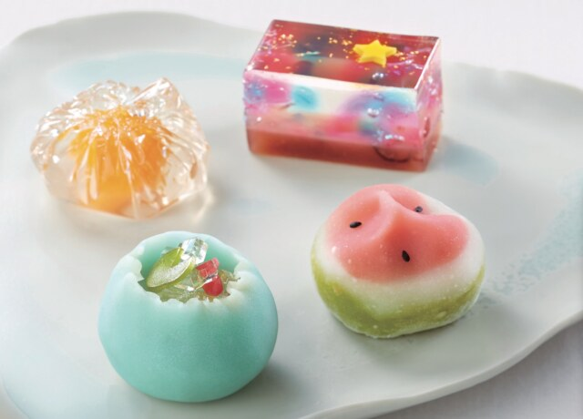 大丸松坂屋のお中元・夏ギフト 風流堂 涼菓詰合せ「夏の庭」