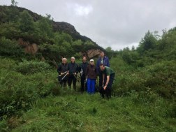Volunteers at Tegg's Nose