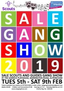 Sale Gang Show 2019 Dates