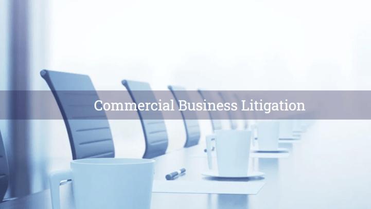 Commercial Business Litigation