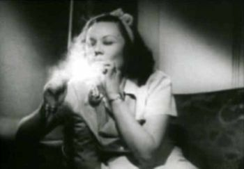 Scene from the propaganda film, 'Reefer Madness'