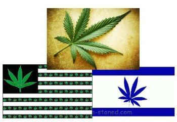 Pot in the US and Israel